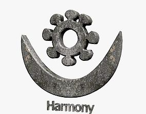 Harmony Symbol 3D