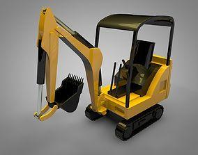 Mechanical Digger 3D