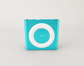 nano ipod shuffle 3D model