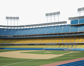 3D Dodger Stadium