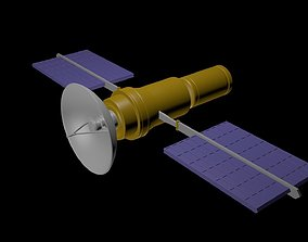 3D model Satellite 3