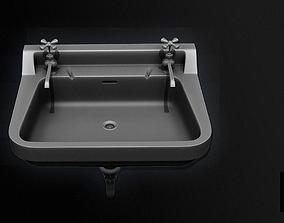 Restroom Sink 3D