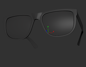Ray Ban Justin Sunglasses 3D model