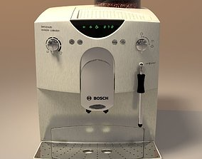 kitchenware 3D model coffeemaker bosch