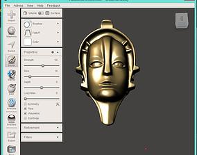 3D print model MARIA Metropolis Robot head