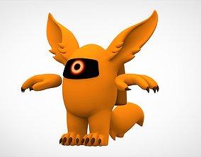 3D model Among Us Orange Werewolf