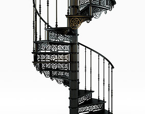 Spiral Staircase Spiral stair 3D model