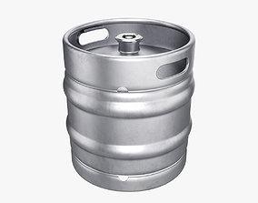 Beer keg 30L 3D