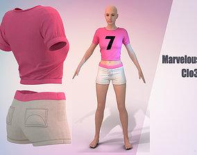 3D Cheerleader Marvelous Desinger