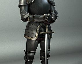 3D model pbr-challenge Knight