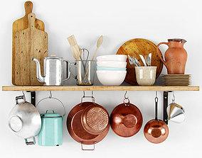 3D Shelf with bakeware