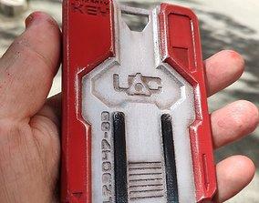 3D print model Doom4 key