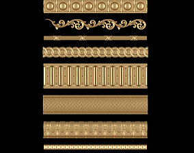 Decorative Moldings Set 05 3D print model