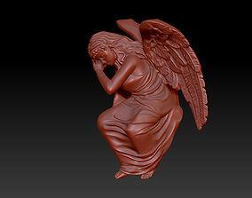 Angel girl 3D print model