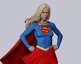 3D print model Supergirl