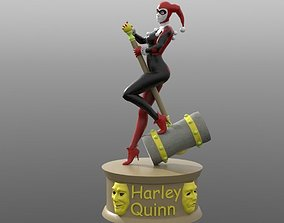 3D printable model Harley Quinn psycho