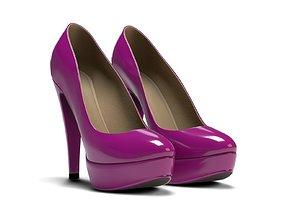 3D Plateau High Heels