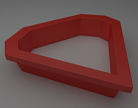 3D print model Diamond shaped Mould or Cutter