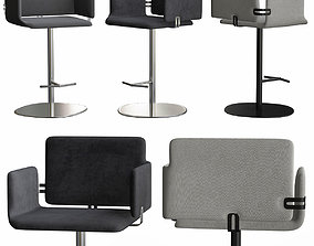 Arka - Sg Is Bar Stool low poly 3d model realtime
