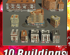 3D model Building Collection 51 - 60