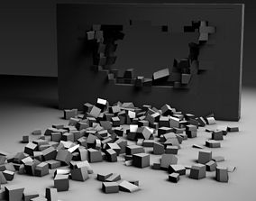 Brick Wall Breaking 3D