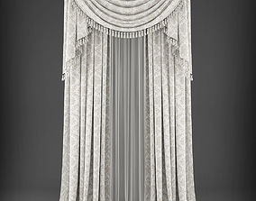 realtime Curtain 3D model 342