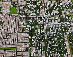 3D model Springfield City of USA