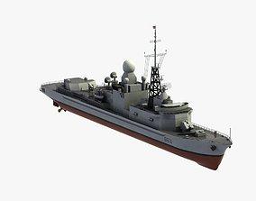 3D model Cassard Class Frigate