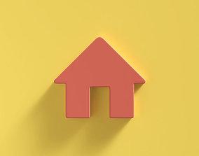 Web Icon Home 3D