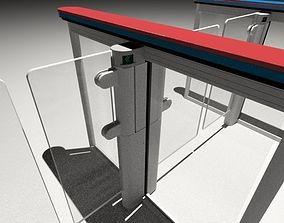 3D turnstile