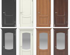Classic interior doors 03 3D