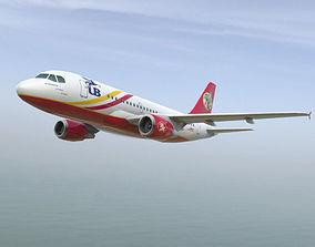 3D asset Airbus A-319