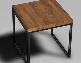 square table 01 3D model