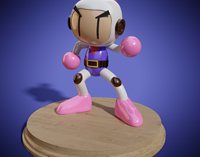 3D printable model Bomberman