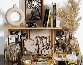 3D model pampas decorative set 003