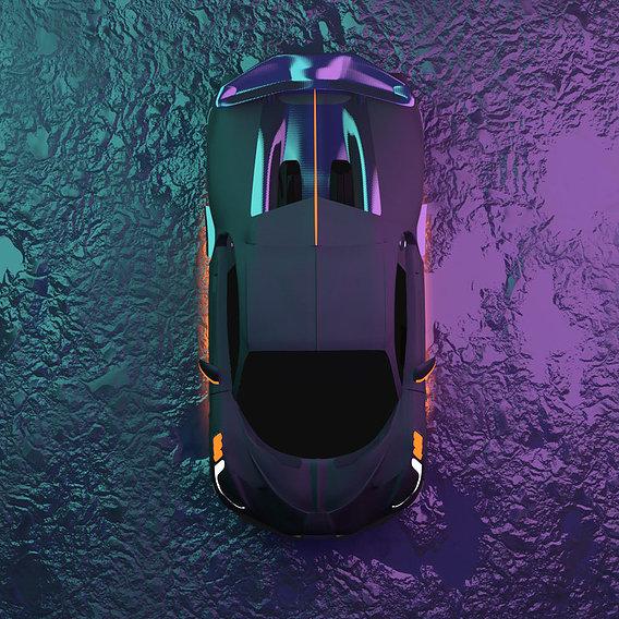 Bugatti Divo Tron Legacy