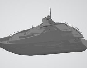 Sunseeker 131 yacht 3D Print file