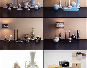 3D model decorative set lamp