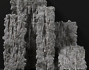 Slab rock thin five part n1 3D model