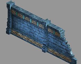 Zhentian Palace-Wall 2 3D model