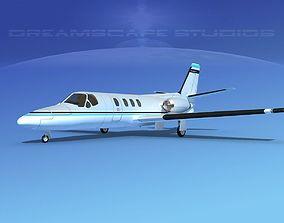 3D model Cessna 500 Citation I V15