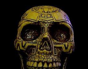 3D print model Mayan Skull