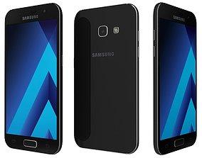 3D Samsung Galaxy A3 2017 Black Sky