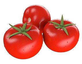 Tomato photorealistic 3D model