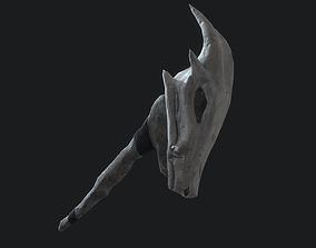 Fantasy Stylish- Wand of Skull 3D model