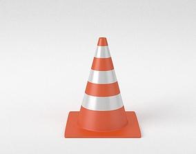 Street Traffic Cone 3D model