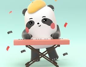 Panda Synth 3D print model