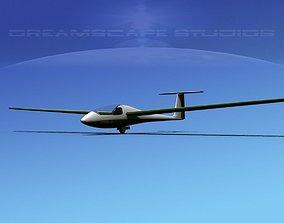 Venture Sailplane V04 3D asset