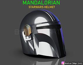 3D printable model MANDALORIAN HELMET - STAR WARS movie