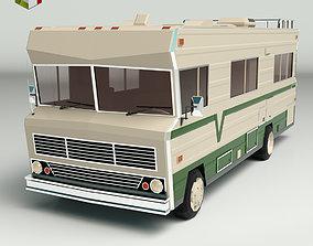 Low Poly Motorhome 03 3D model